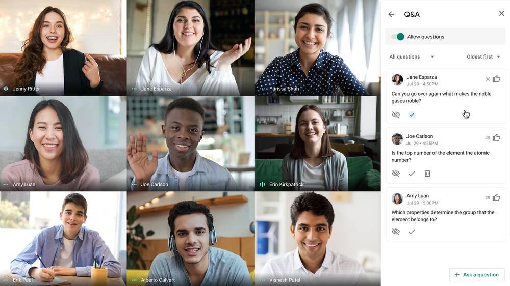 Google Meet corso agente di viaggio online
